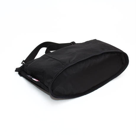 OVAL SHAPED BAG(Lサイズ) BLACK