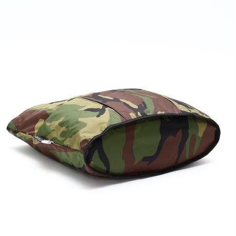 OVAL SHAPED TOTE BAG(Lサイズ) WOODLAND CAMO