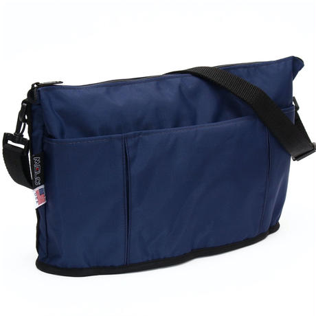 OVAL SHAPED BAG(Lサイズ) NAVY