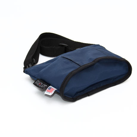 OVAL SHAPED BAG(Sサイズ)  NAVY