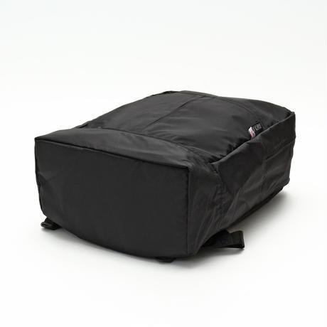 DIAGONAL ZIPPER BACKPACK(Lサイズ) BLACK