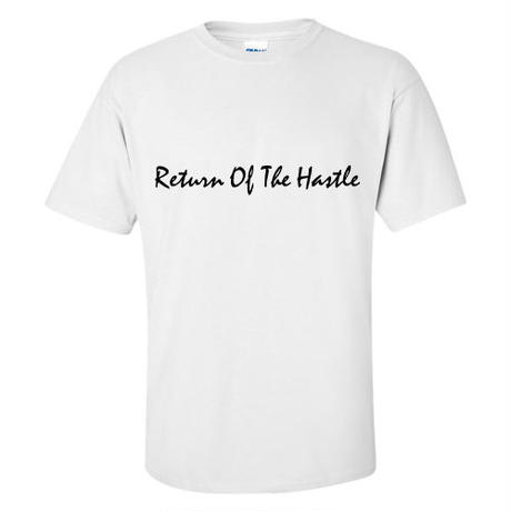YOUNG HASTLE / RETURN OF THE HASTLE PROMO TEE WHITE