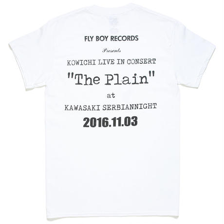"KOWICHI LIVE IN CONCERT ""The Plain"" OFFICIAL T-SHIRT"
