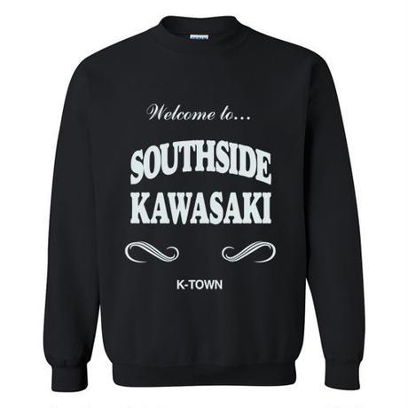 """SOUTHSIDE KAWASAKI"" CREWNECK SWEATSHIRT BLACK"