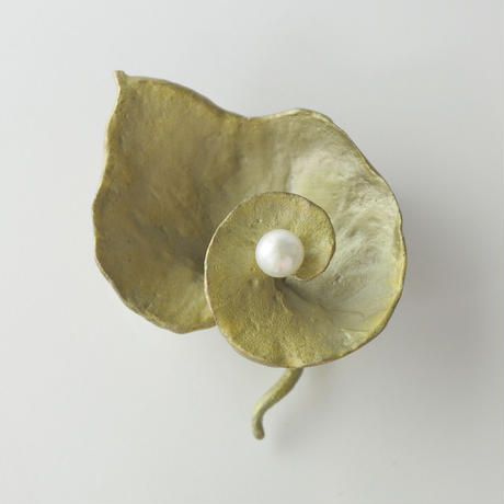 【MICHAEL MICHAUD】geranium ブローチ