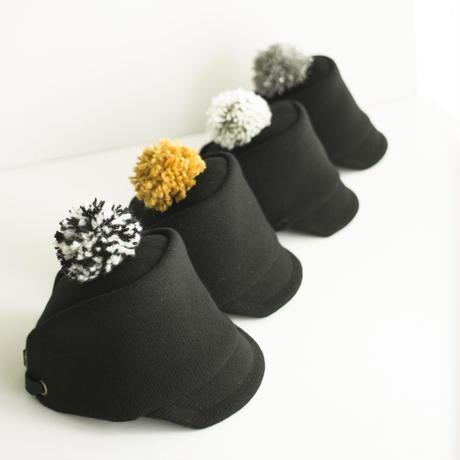 PomPom Wool cap用 着せ替えポンポン