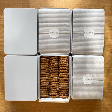 KUCHIBUEのバタークッキー缶