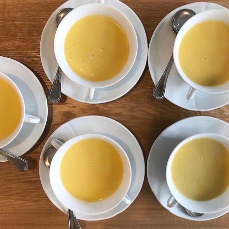 KUCHIBUEのナポリタンセットとスープのセット