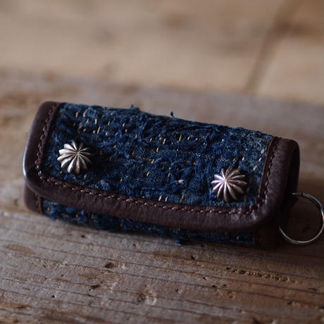 BORO LEATHER KEYCASE CONCHO(JAPAN×USA)