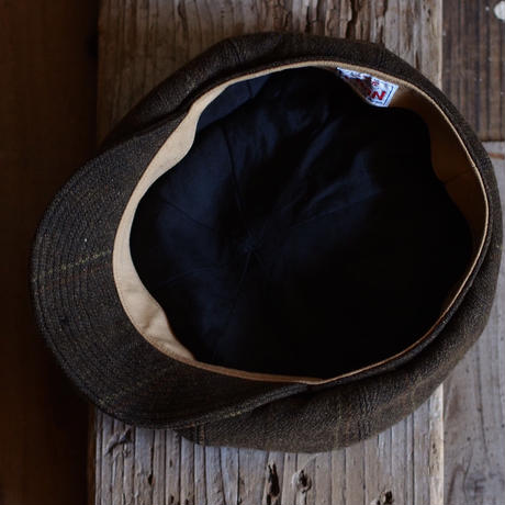 JAPAN VINTAGE FABRIC CAP ~type newsboy~60