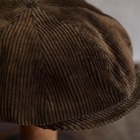 FRENCH VINTAGE CORD CAP ~type newsboy~58