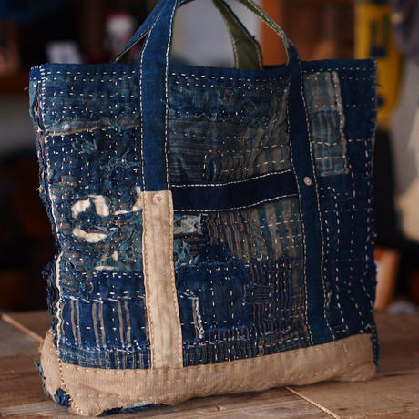 RANRU(襤褸) TOTE BAG(JAPAN×USA)