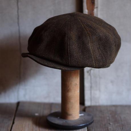 JAPAN VINTAGE FABRIC CAP ~type newsboy~58
