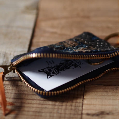 SASHIKO(BORO) KEY COIN CASE