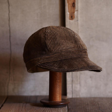FRENCH VINTAGE CORD CAP ~type mechanic~59 ①
