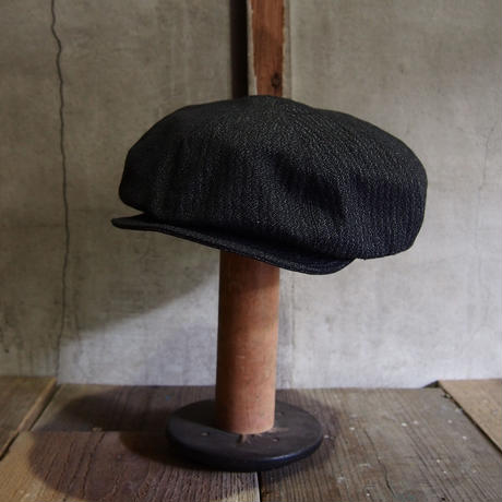 FRENCH VINTAGE FABRIC CAP ~type newsboy~60