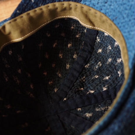 NEWS BOY  CAP  刺し子(SASHIKO)