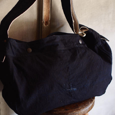 JAPAN VINTAGE FABRIC NEWSPAPER BAG
