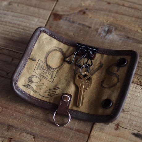 SAKIORI LEATHER KEY CASE(JAPAN×USA)