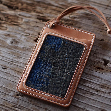 SASHIKO LEATHER CARDCASE