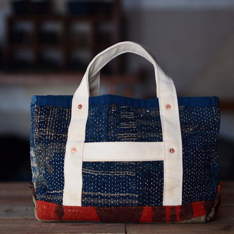 BORO SASHIKO(刺し子) MINI TOTE BAG