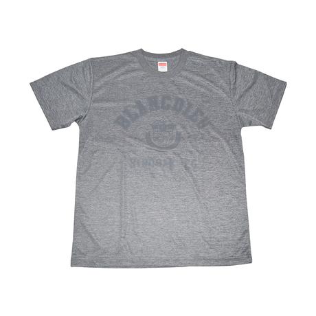 Tシャツ(チャコール×グレー)
