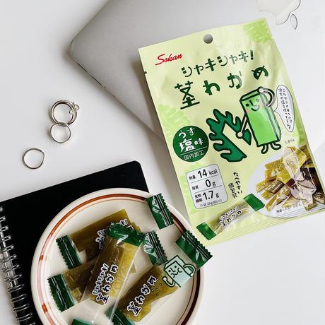 28gシャキシャキ茎わかめ うす塩味×8個パック