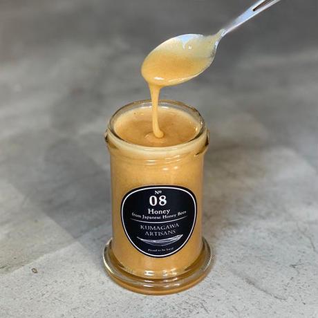 No.08 Honey from Japanese Honey Bees 〈日本蜜蜂はちみつ〉 120g
