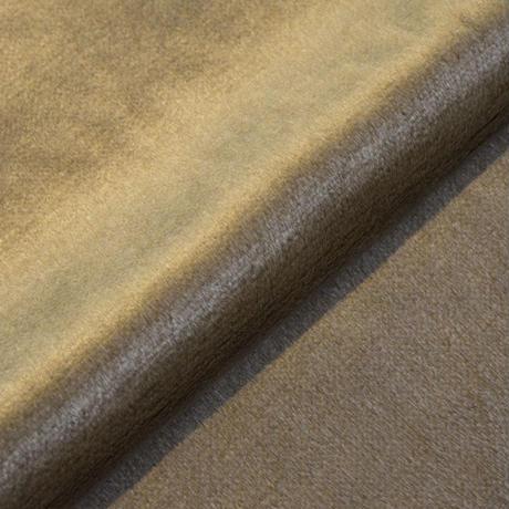 アクリルモヘア(岡田織物)茶色 65cmx100cm