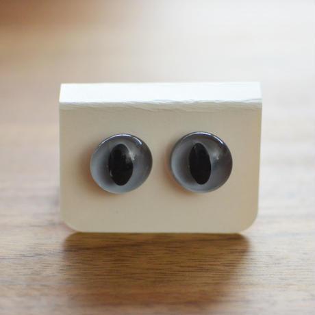キャッツアイ(グリ-ン、イエロー、ブル-グレ-)8mm 1ペア