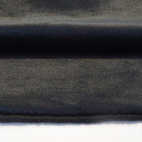 アクリルモヘア(岡田織物)黒色 130cmx100cm