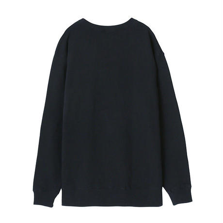 MOBILE KUMATAN 刺繍スウェット【KMT-213BK】