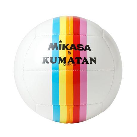 MIKASA&KUMATANバレー4号レインボー【KMT-432RA】