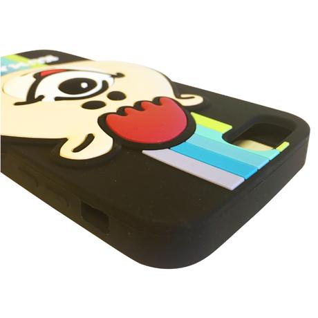 クマタン レインボーiPhoneケース 8/7/6S/6対応【KMT-327BK】