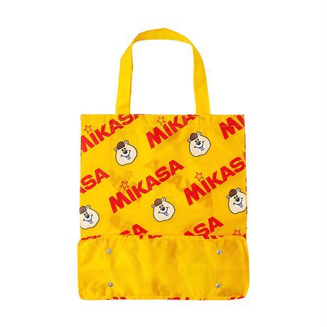 MIKASA&KUMATAN総柄レジャーバッグ【KMT-439YE】