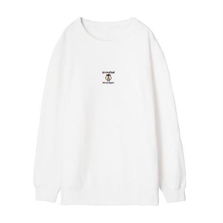 MOBILE KUMATAN 刺繍スウェット【KMT-213WH】