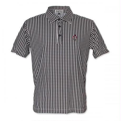 Gingham Check Polo