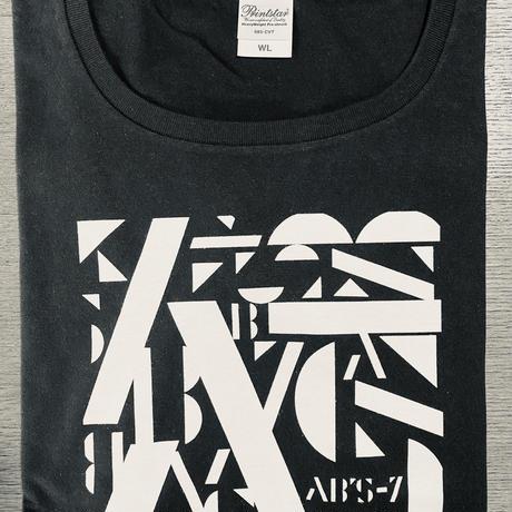 AB'S-7 オリジナルTシャツ 黒