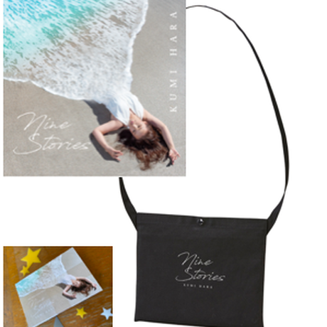 """CD + サコッシュ Kumi Hara """"Nine Stories"""""""