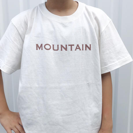 mountain tee   キッズ