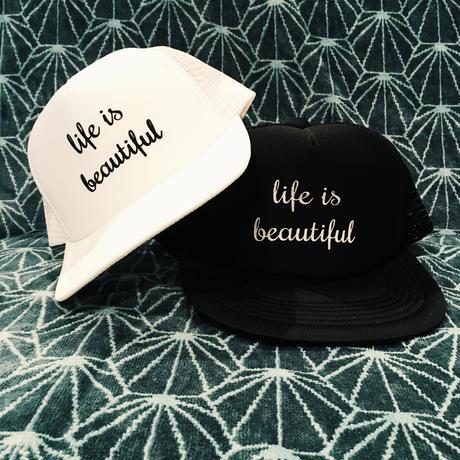 life is beautiful kisd cap