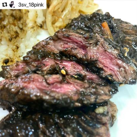 ブラックステーキ  (1枚)          ※画像はイメージです。