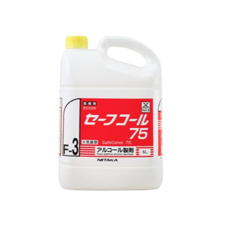 【セーフコール75/ソフトボトル 】5L