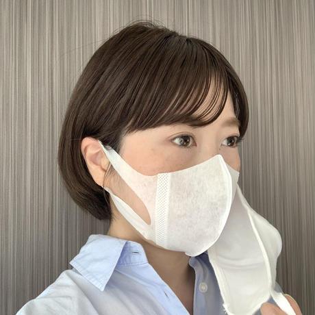 ソフトーク超立体1層マスク(100枚)/コットンマスク(2枚)】🈹二重マスク割引セット