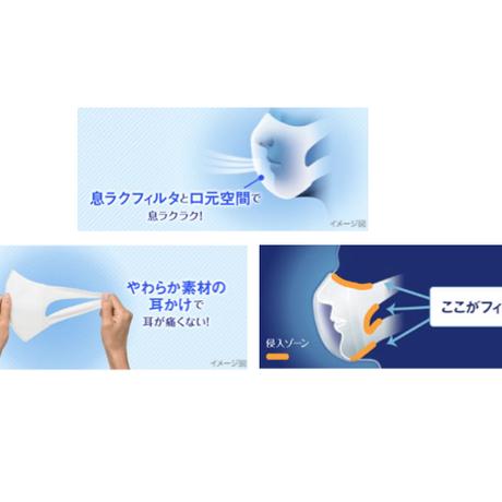 【ソフトーク超立体1層マスク(100枚)/コットンマスク(2枚)】二重マスク割引セット