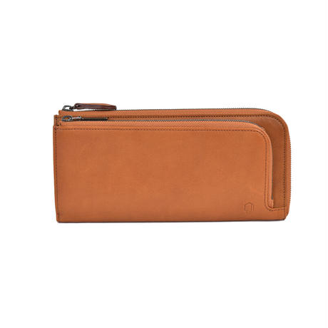 ランチタイムはこれ一つ「WLファスナー長財布」