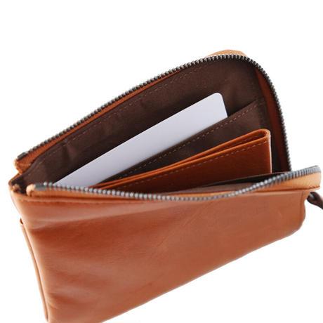 便利機能をカジュアルに「ミニLファスナー財布」