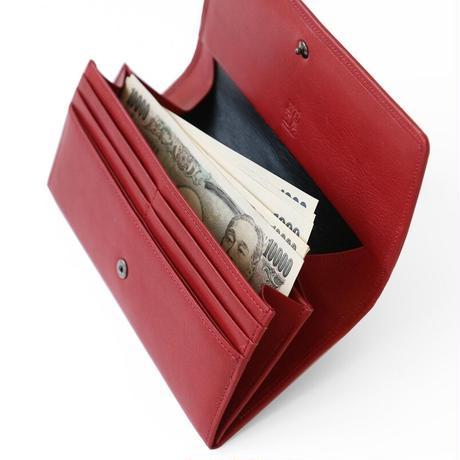 カード25枚、札も小銭も出し易い「スマート長財布」