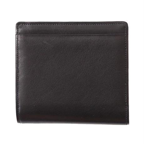 小振りで便利な万能型「外BOX付き二つ折財布」