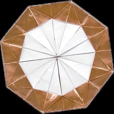金銀銅のおりがみ 150mm×150mm